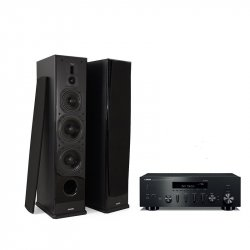 Boxe podea Dynavoice Definition DF-8 + Amplificator Yamaha R-N602