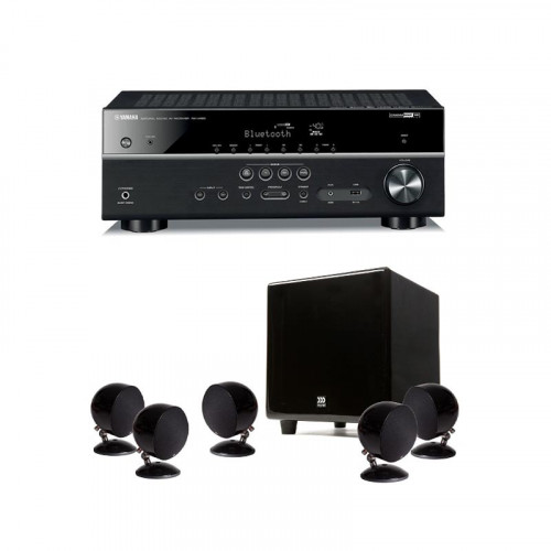 Receiver Yamaha RX-V383 + Sistem boxe 5.1 MOREL BEAT-X