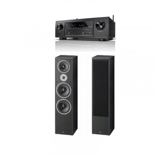 Boxe Magnat Monitor Supreme 1002 + Receiver AV Denon AVR-X1400H