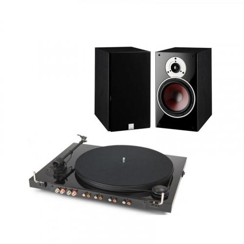 Pick-Up Pro-Ject JUKEBOX E (OM5e) Negru Piano + Boxe raft Dali Zensor 3